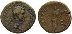 Ancient Coins - Nerva AE sestertius - FORTUNA  35mm  28.22gm