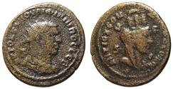 Ancient Coins - Philip I AE31 8 Assaria - Turreted Tyche - Antioch