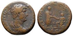 Ancient Coins - Hadrian AE As - RESTITUTORI GALLIAE - VF & Scarce