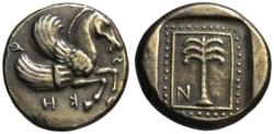 Ancient Coins - Troas Skepsis AR drachm - Becker Forgery