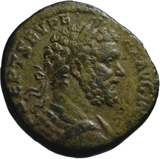 Ancient Coins - Septimius Severus AE sestertius - ANNONA - Good VF Rare