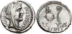 Ancient Coins - Cassius & Cornelius Lentulus Spinther AR denarius - EF