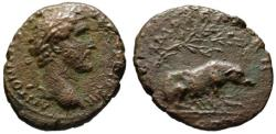 Ancient Coins - Antoninus Pius AE As - The Great Sow - Rare