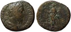Ancient Coins - Marcus Aurelius AE sestertius - FELICITAS