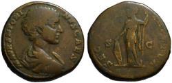 Ancient Coins - Caracalla as Caesar AE sestertius - SEC PERPETUA - Rare