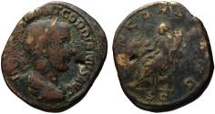 Ancient Coins - Gordian III AE sestertius - CONCORDIA