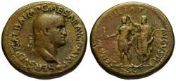 Ancient Coins - Galba AE sestertius - SENATUS PIETATI AUGUSTI - Extremely Rare