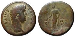 Ancient Coins - Aelius AE sestertius - PANNONIA - Very Scarce