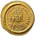 Ancient Coins - Justinian I AV solidus - Constantinople mint - EF