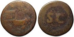 Ancient Coins - Rare LIVIA JULIA AUGUSTA AE sestertius - under Tiberius - Huge 36mm