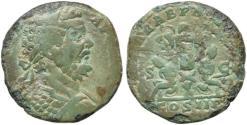 Ancient Coins - Septimius Severus AE sestertius - PART ARAB captives - Very Scarce