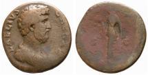 Ancient Coins - Aelius AE sestertius - SPES - Nice portrait