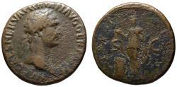 Ancient Coins - Trajan AE As - PIETAS - 98 AD