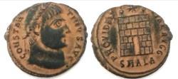 Ancient Coins - Constantine I. A.D. 307/10-337. AE  (19.3 mm, 2.7 g). Alexandria mint, struck A.D. 325-326.
