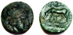 Ancient Coins - Troas. Alexandria Æ ,Horse