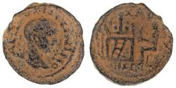 Ancient Coins - Decapolis, Charachmoba. Elagabalus (AD 218-222). AE, RARE CITY,RARE COIN