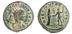 Ancient Coins - AURELIAN, 270-275 AD. Antoninianus, RESTITVT ORBIS.