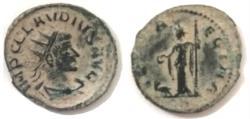 Ancient Coins - CLAUDIUS II GOTHICUS. Antoninianus. AE, 268-270 AD. Antioch mint.