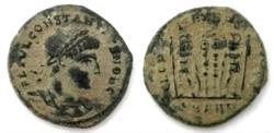 Ancient Coins - Constantius II As Caesar, AD 316-337. Antioch mint