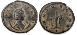 Ancient Coins - Salonina, wife of Gallienus AE-Antoninianus,