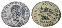 Ancient Coins - Constantius Gallus, Caesar, 351-354 AD. Æ