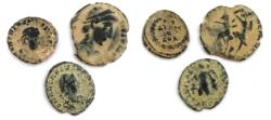Ancient Coins - LOT OF 3 ANCIENT BRONZE ROMAN COIN