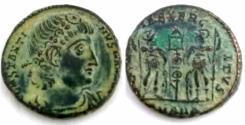 Ancient Coins - Constantine I. A.D. 307/10-337. Æ follis (15.4 mm, 2.1 g). Antioch.