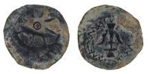 Ancient Coins -  JUDAEA, Alexander Jannaeus (104-76 B.C.)