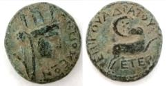 "Ancient Coins - The ""Star of Bethlehem Coin"" Bronze; SYRIA, Seleucis and Pieria. Antioch."