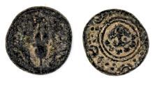 Ancient Coins - Macedonian Kingdom, Alexander III the Great, 336 - 323 BC. AE 16.2 mm. Salamis mint