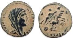 Ancient Coins - DIVUS CONSTANTINE I. Died 337 AD. Æ. Alexandria mint. Struck 337-340 AD. AS FOUND.