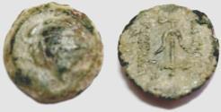 Ancient Coins - Alexander II Zabinas ae Antioch mint.