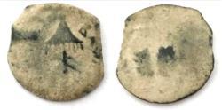 Ancient Coins - ORIGINAL DESERT PATINA.Judaea, Herodians. Agrippa I. 37-43 AD. Æ Prutah