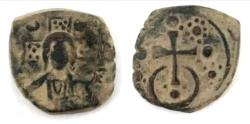 Ancient Coins - Alexius I Comnenus. 1081-1118. Æ Follis (25.3mm, 7.2 g)