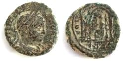 Ancient Coins - Judaea. Aelia Capitolina under Elagabalus (AD 218-222). (Jerusalem)