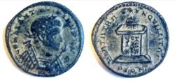 Ancient Coins - Constantine the Great - AE - BEAT TRANQLITAS - London