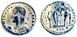 Ancient Coins - Constans. AD 337-350. Æ Centenionalis (20.5mm, 5.0 g,).Alexandria mint