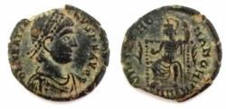 Ancient Coins - Gratian. A.D. 367-383. Æ (18.3 mm, 2.8 g).