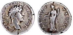 Ancient Coins - ANTONINUS PIUS (138-161). AR Denarius. Rome.