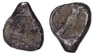 Ancient Coins - GREEK. Phoenicia. Tyre. Uncertain king. Circa 425-394 BC. AR shekel
