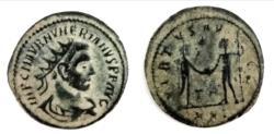 Ancient Coins - Numerian. A.D. 283-284. AE antoninianus (21.5 mm, 3.5 g). Tripolis mint,