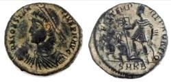 Ancient Coins - Constantius II AE2, struck AD 348-350 at Cyzicus mint