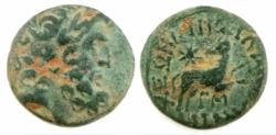 "Ancient Coins - The ""Star of Bethlehem Coin"" Bronze; SYRIA, Seleucis and Pieria. Antioch. Augustus. 27 BC-AD 14."
