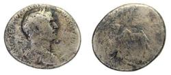 Ancient Coins - ARABIA, Bibilical , Bostra. Trajan. AD 98-117. AR Drachm