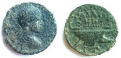 Ancient Coins - Syria, Decapolis. Gadara,under Gordian III, 238-244 CE. AE 27mm,