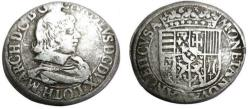 World Coins - FRANCE.Duchy of Lorraine.Charles IV 1st period 1624-1635.AR.Teston 1632.