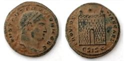 Ancient Coins - Constantine II (317-337), Follis, Siscia
