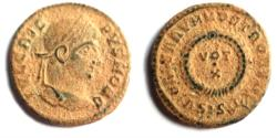 Ancient Coins - Crispus, , 320-321, Siscia.AE.Original desert patina.SUPERB!