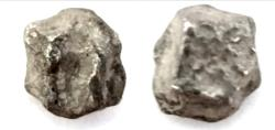 Ancient Coins - JUDAEA,HACK-SILBER 8TH./4TH. CENTURY BC. EARLY MEANS OF PAYMENT. ( 2.8G) 5 GERAH. RARE