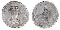 Ancient Coins - GETA AR Denarius. Caesar